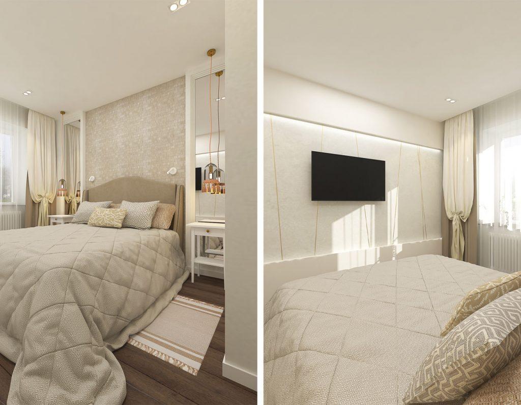 Уютная трёхкомнатная квартира